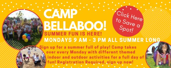Camp Bellaboo. Click for more details and to sign up