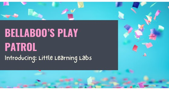 The Play Patrol: Introducing Little Learning Labs