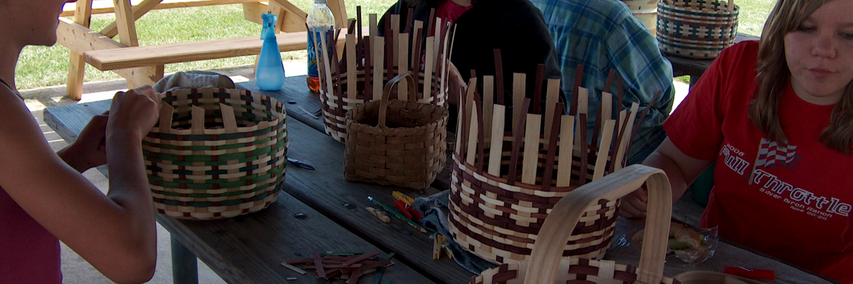 Basket weaving workshop
