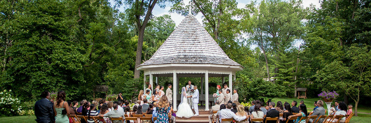 Deep River Wedding Gazebo