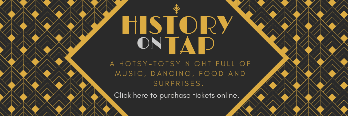 History on Tap banner