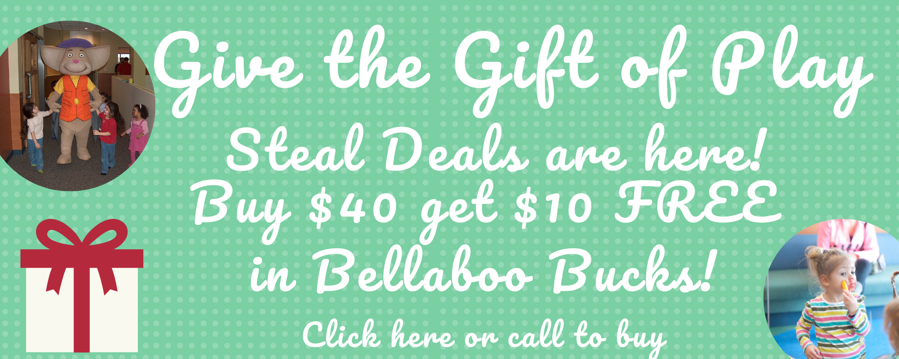 Give the Gift of Play! Bellaboo Bucks Deal