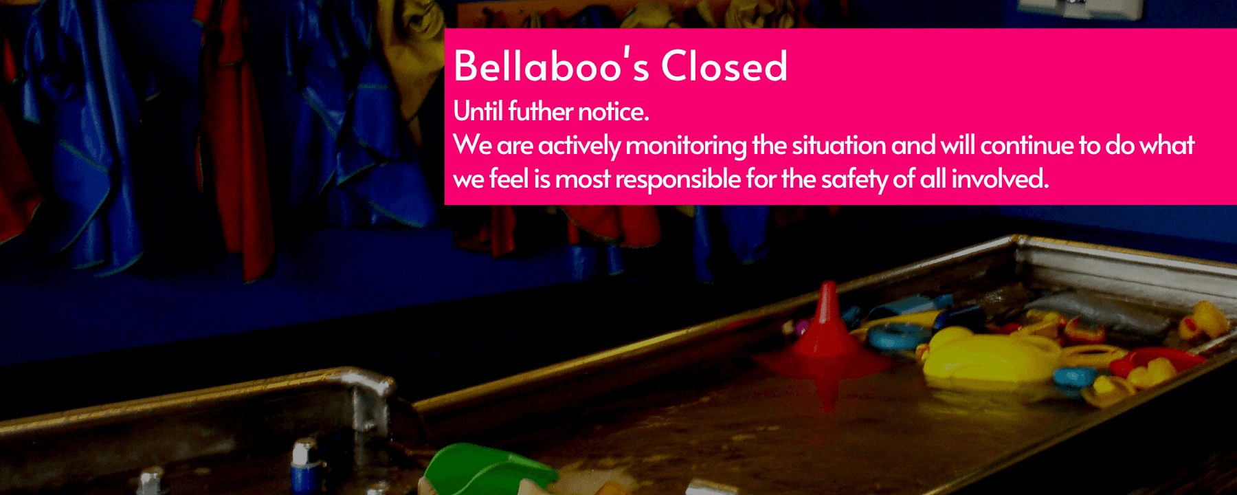 Bellaboos Closed through end of March