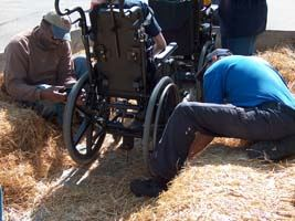Wheelchair Hayride