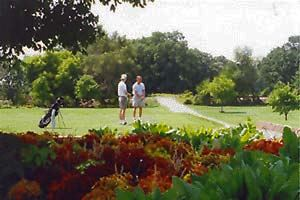 Golfers at Turkey Creek