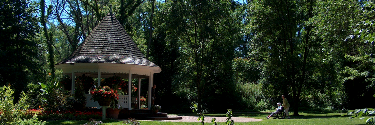 Deep River gazebo