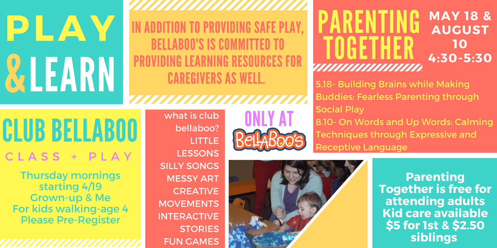Play and Learn. Club Bellaboo & Parenting Together