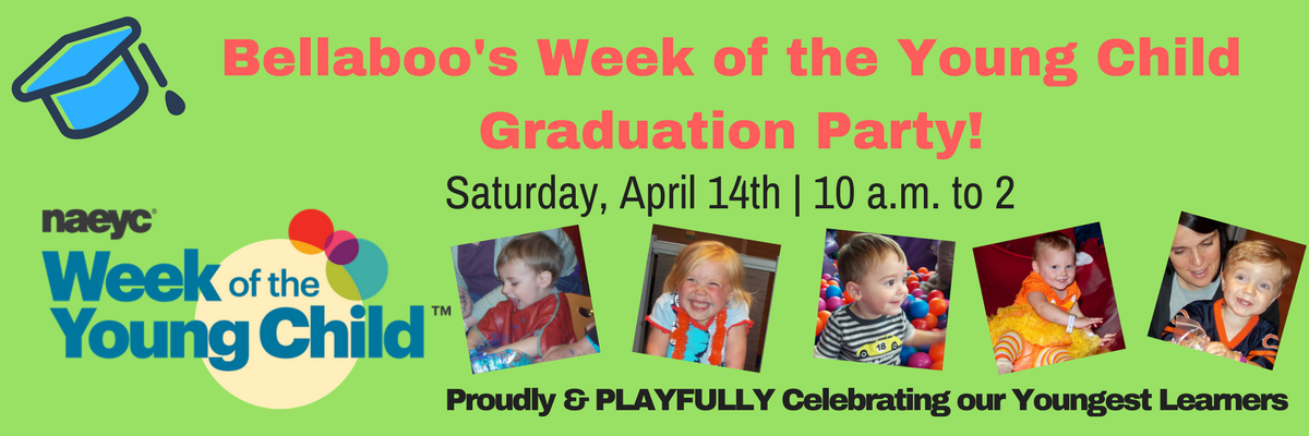 Week of the Young Child Graduation Party April 14